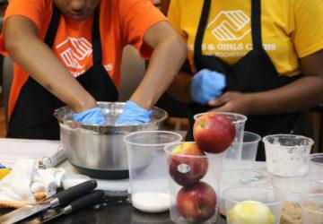 Kids at Culinary Camp
