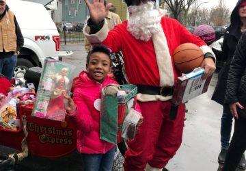 Motorcycle Santa brings joy to our kids