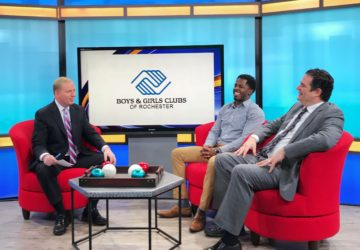 Club alum and board member speak to Channel 8
